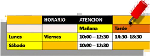 TAl-horario500